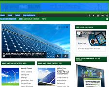 Wind And Solar Niche Blog Website Affiliate Income Free Hosting Setup