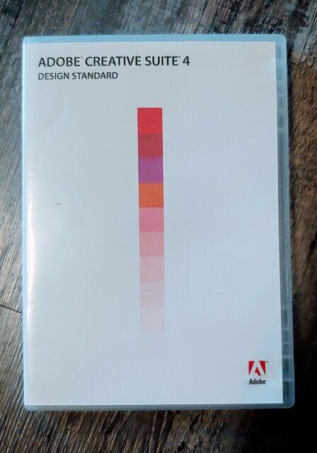 Adobe Creative Suite 4 Design Standard  For Sale