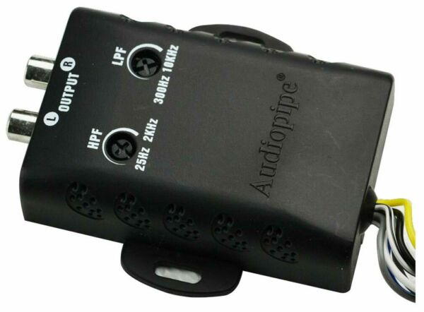 Flight Tracker Audiopipe Apnr550hlp 2 Way Hi/lo Convertor