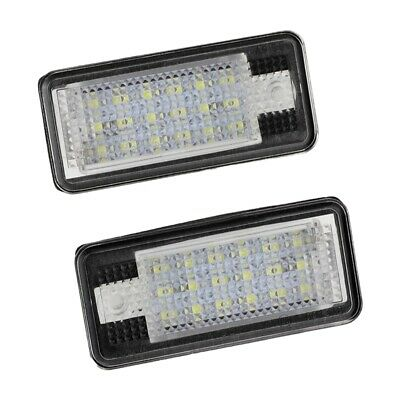 2x Saab 9-3 YS3F 501 Bright Xenon White LED Number Plate Upgrade Light Bulbs