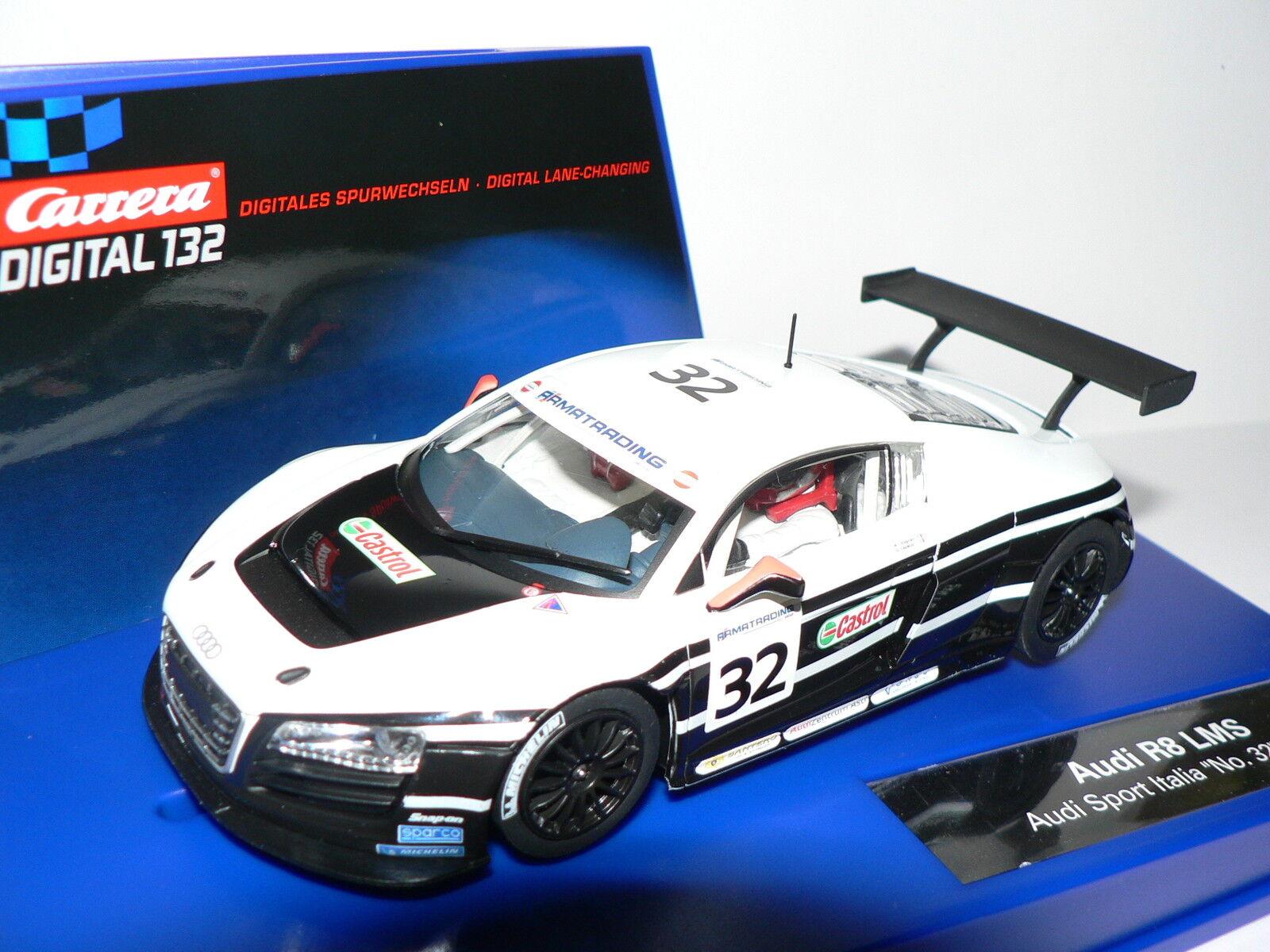 Carrera Digital 132 30602 Audi R8 Lms Audi Sport Italia No.32, 2011 New