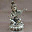 Details about  /Collectibles Old China Handmade Tibetan silver Sarasvati-The pipa