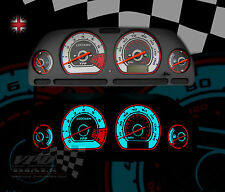 MG-ZR ROVER PLASMA GLOW SPEEDO WHITE DIAL KIT