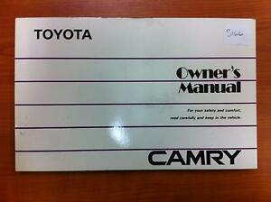 Image Is Loading TOYOTA CAMRY OWNERS HANDBOOK Amp LOGBOOK SV21 03