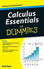 Calculus Essentials For Dummies by Mark Ryan (Paperback, 2010)
