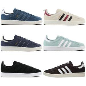 Details zu adidas Originals Campus Sneaker Schuhe Retro Turnschuhe Leder Sportschuhe NEU