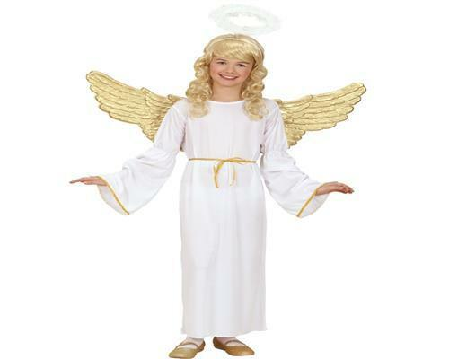 158  PREISHIT Engelsverkleidung Engelskostüm 0254 WOW Engel Kinder Kostüm Gr