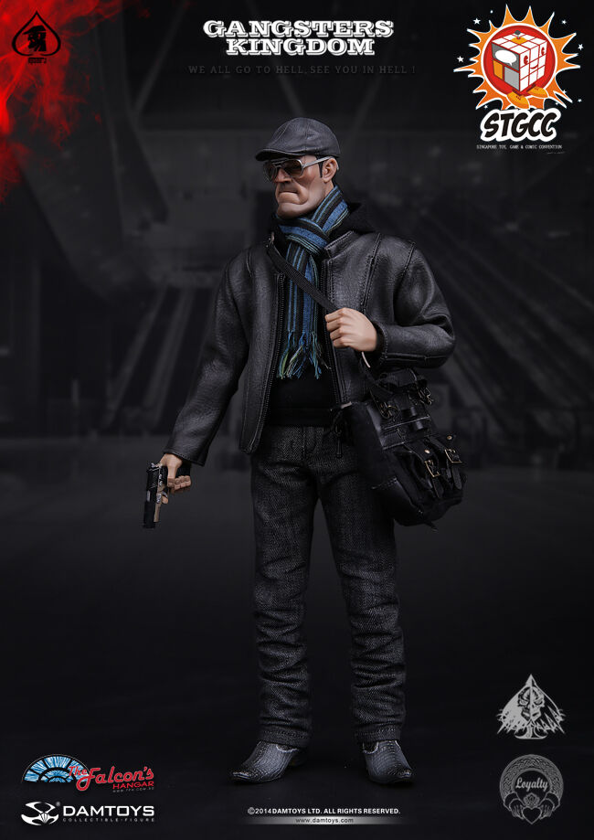 DAM Toys STGCC Exclusive The Gangsters Kingdom - Spade J 1/6 Figure