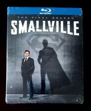 Smallville: The Complete Tenth & Final Season (4-Disc Blu-ray Set) New & Sealed!