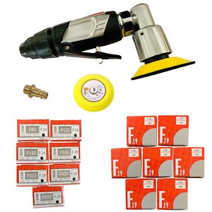 Mini Druckluft Excenterschleifer 90 PSI Exzenter Schleifscheiben 50MM bis 75MM