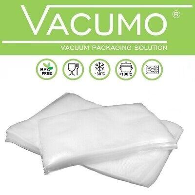 200 Vakuumbeutel 30 x 70 cm VACUMO S-VAC Vakuumfolie Vakuumierbeutel goffriert