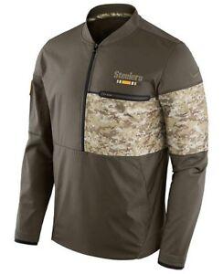 f50cf9cc Nike Pittsburgh Steelers Mens Military Jacket Sz L Salute To Service ...
