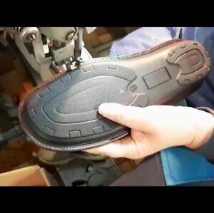 Sabot Uomo Pantofole in Vera Pelle da Camera Fatte a Mano Made in Italy Cuoio