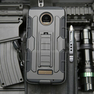 For-Motorola-Moto-Z-Z-Force-Droid-Shockproof-Armor-Stand-Holster-Clip-Case-Cover