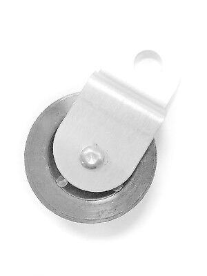 """Lifetime Pulley 1.5/"""" Diameter Sheave with 1//4/"""" ID Stainless Steel Bushing"""