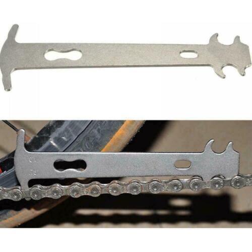 Bike Chain Wear Gauge Indicator Repair Tool Chain Checker Ruler Kits U0O6