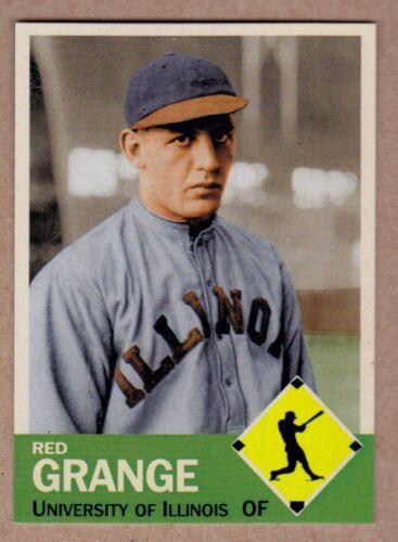 Red Grange /'23 University of Illinois Illini baseball  MC Diamond Collection #11