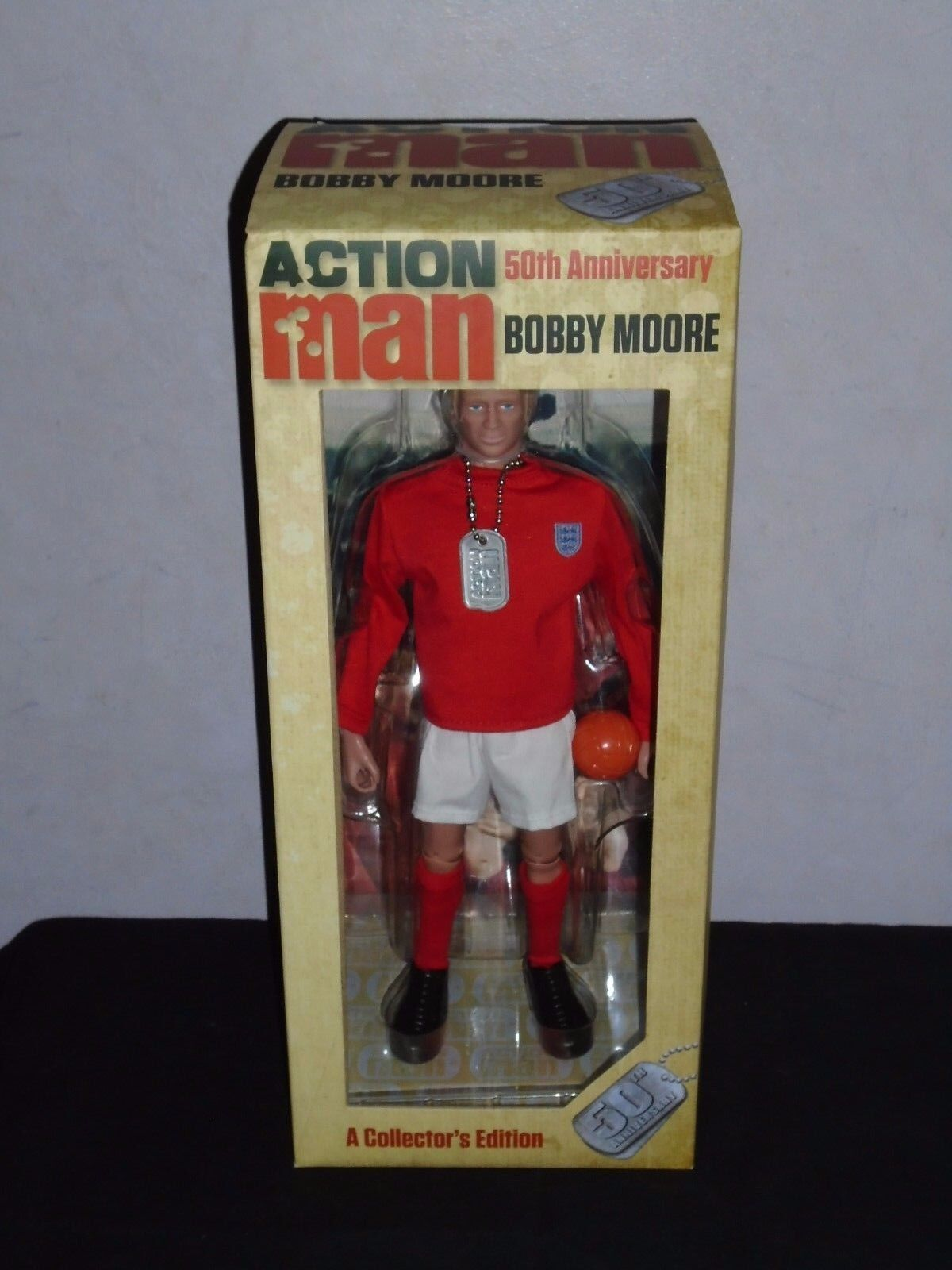 ACTION MAN 50TH ANNIVERSARY AM718 BOBBY MOORE.