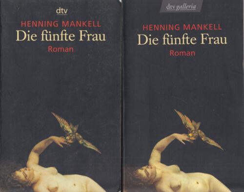 1 von 1 - dtv- Mankell : DIE FÜNFTE FRAU   c20366