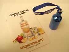 One Absolut Vodka Blue Disco mini and Absolut Orient Apple recipe book.