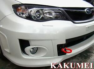 Jdm Racing Steel Tow Hook Custom Fit For 08 09 10 11 Subaru Wrx Sti