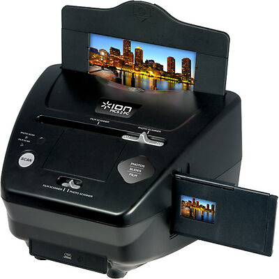 ION PICS2PC PICS 2 PC USB PICTURE, SLIDE & FILM SCANNER