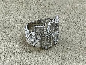 Diamond-and-Sterling-Silver-925-ring-size-7