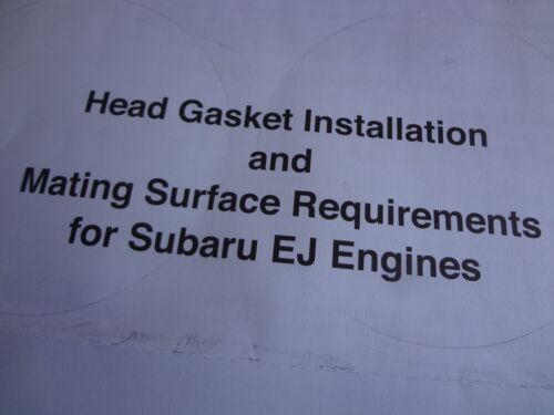 Six Star Head Gasket Kit for Subaru 2.5 SOHC Impreza Forester Outback Legacy