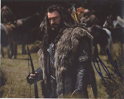 Richard Armitage Signed Autographed 8x10 Photo The Hobbit Robin Hood Coa Vd High Safety Photographs