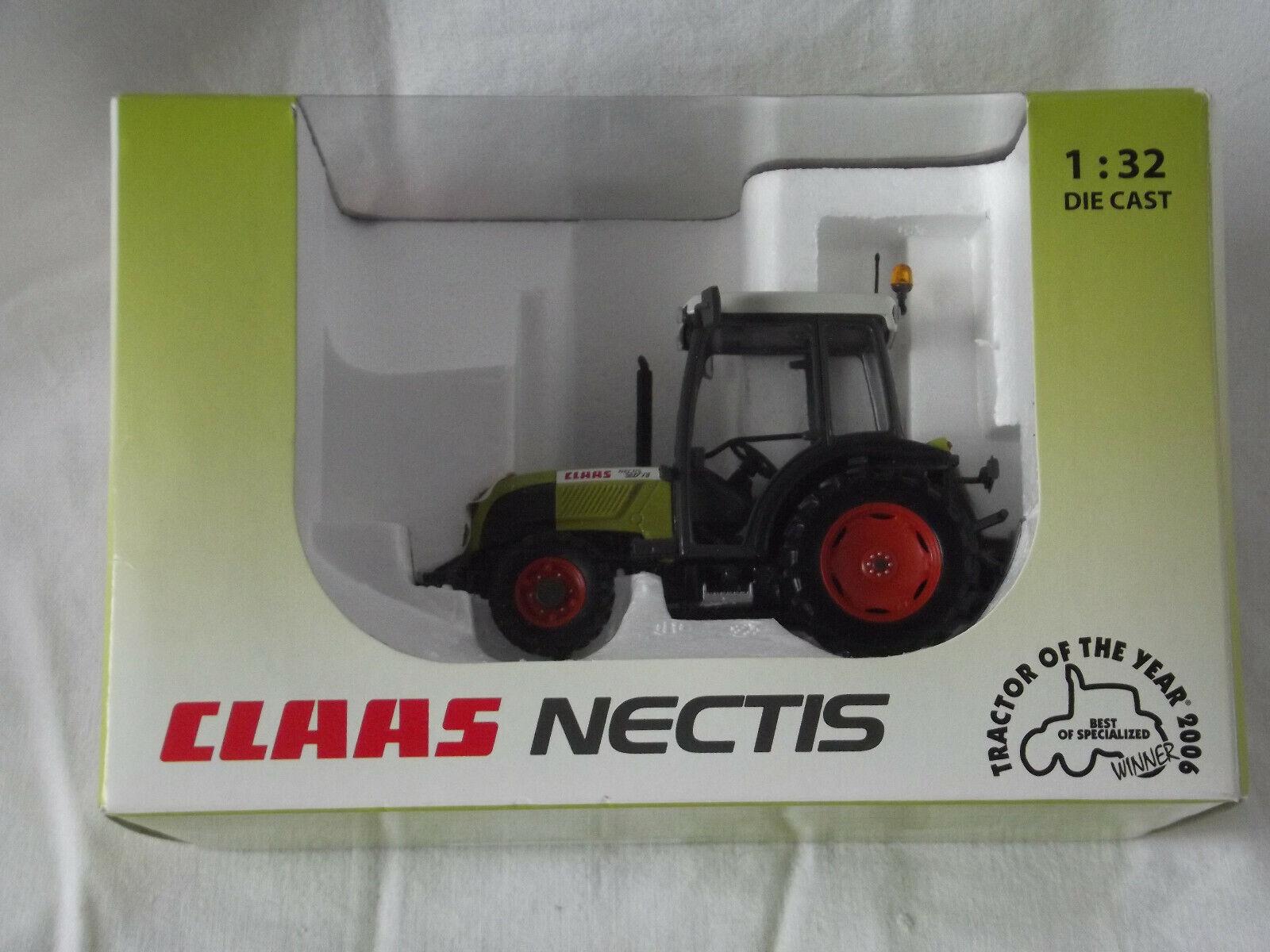 Universal Hobbies 1.32 Claas Nectis mit Kabine Original WerbeModellll von Claas