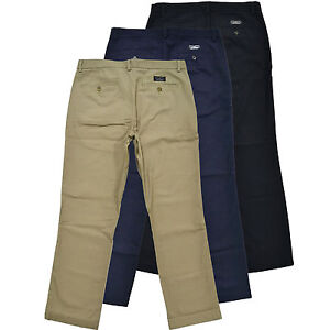 Banana-Republic-Chinos-Aiden-Slim-Fit-Pants-Mens-Khakis-Trousers-100-Cotton-New