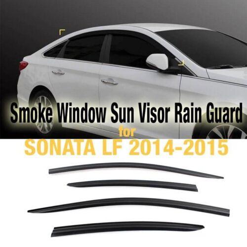 Smoke Window Sun Vent Visor Deflector Rain Guard For HYUNDAI 2015-2018 Sonata LF