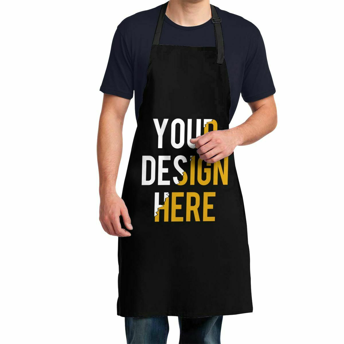 Cooking Aprons Cartoon Forest Monkey Chef Kitchen Plus Size Apron Baking Grilling Waterproof Customized Lab Bib Apron Large for Men Women Adults Man Teen Girls