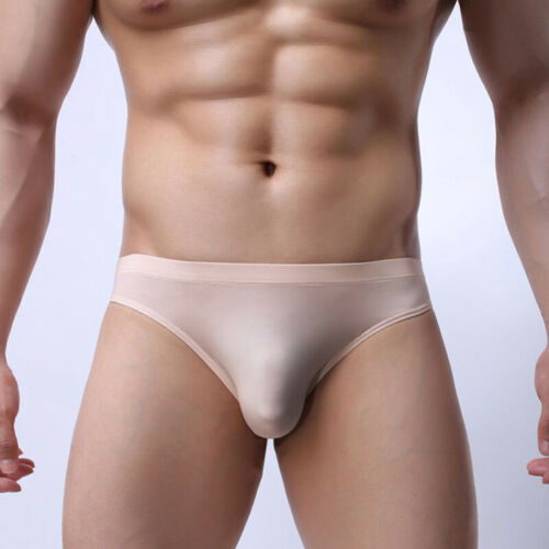 Mens Casual Briefs Bulge Pouch Triangle Low Rise Thongs Knickers Underwear Hot