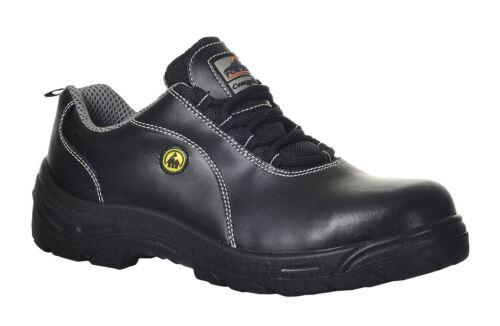 12 nero Fc02 scarpa non Esd antinfortunistica Puntale pelle in della 4 Portwest metallico xqFwAnHXt