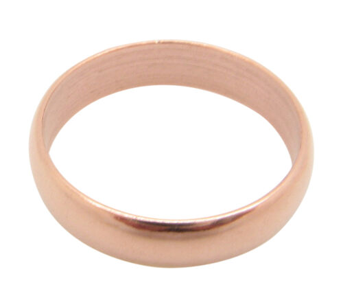 3//16 of an inch wide. Solid Copper Band Ring CR39T Size 4 thru 11-3mm wide