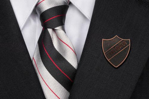 Commendation Award School Shield badge