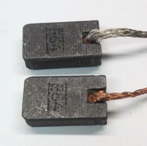 Kohlebürsten Motorkohlen Kohle für Bosch PWS 9,10,13,1000,1300-125 CE,GGS 8 28