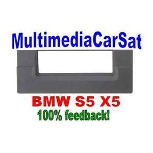 3-238-MASCHERINA-AUTORADIO-1-DIN-ISO-BMW-S5-X5-NERA-CORNICE-ISO
