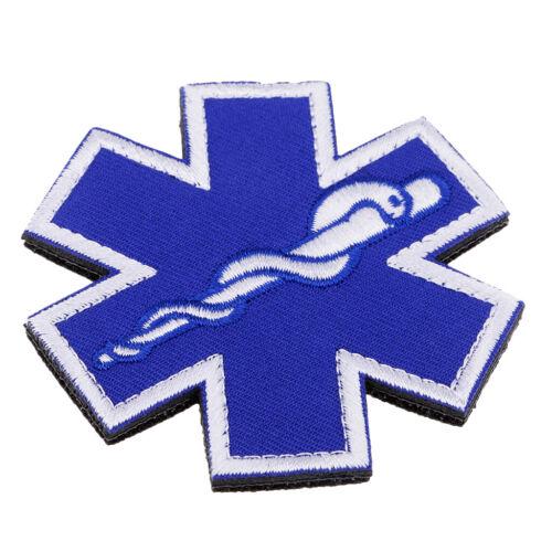 Applikation Aufnäher medical paramedic Star of Life Patches Dekoration