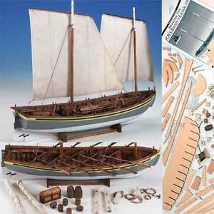 Details About Model Shipways Hms Bounty Launch Wood Kit Boat New