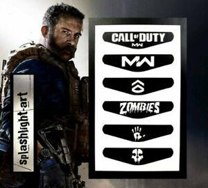 Call Of Duty Modern Warfare Ps4 Controller Light Bar 6x Vinyl Decal Sticker Ebay