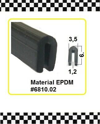1,2mm Gummidichtung Gummiprofil 6810.02 Aus Berlin Sonstige 4,5m Kantenschutz € 3,95/m F Baustoffe & Holz