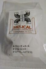 """HELICAL Flexible Shaft Coupling Joint 1/4""""D ACR075-8-6"""
