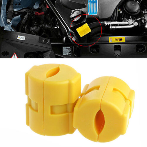 2PCS Universal Magnetic Gas Fuel Saver For Car Economizer Truck Reduce Emission