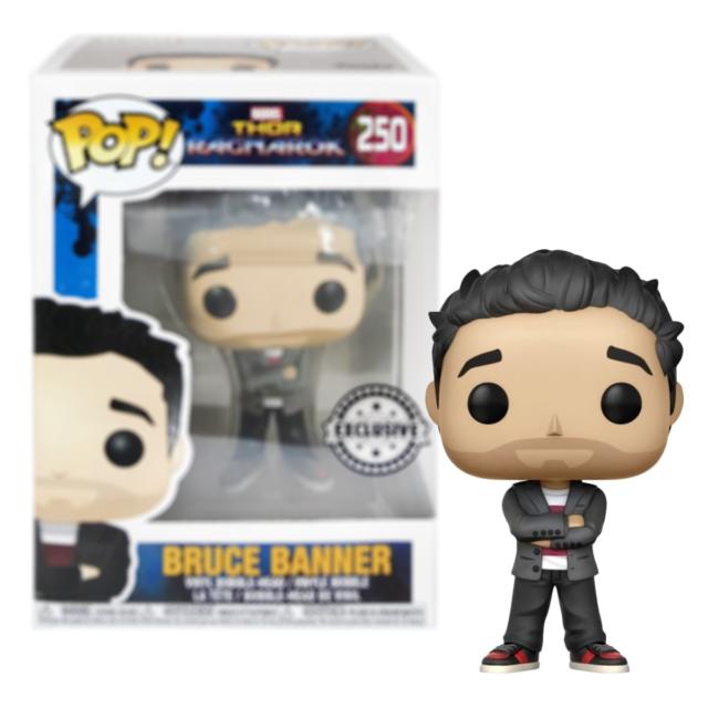 #250 Thor Ragnarok Bruce Banner Exclusive Funko Pop