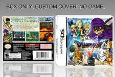 "NINTENDO DS : DRAGON QUEST 5. UNOFFICIAL COVER. ORIGINAL BOX. ""NO GAME"". ENGLISH"