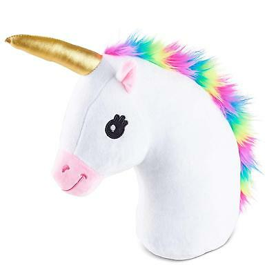 Kreative Kraft Unicorn Emoji Head Pillow Cushion Soft Cuddly Plush Perfect Gift