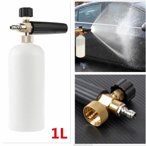 """Car Foamer Wash Jet Bottle 1//4/"""" Snow Foam Lance Cannon Washer Gun Soap Pressure"""