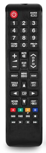 COMPATIBLE REMOTE CONTROL FOR SAMSUNG TV HP-T5054 HPT5054X//XAA